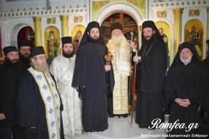 Ρασοευχή Μοναχού στην Ι.Μ. Αγίου Νεκταρίου Κιλκίς