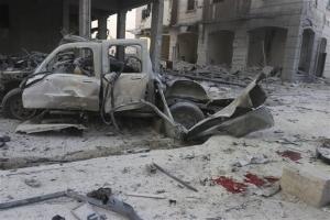 Συρία: Αεροπορική επιδρομή έπληξε σχολικό λεωφορείο