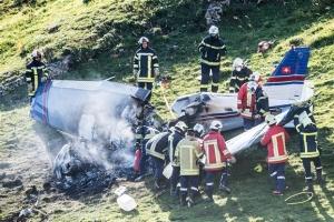 Ελβετία: Συνετρίβη αεροπλάνο - Νεκροί και οι τρεις επιβάτες