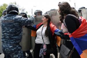 Πολιτικές συλλήψεις στην Αρμενία