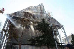 Από αμέλεια η φωτιά στο τέμενος Βαγιαζήτ